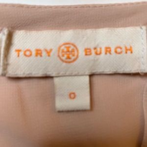 Tory Burch Tops - Tory Burch Pink Chiffon Embroidered Blouse